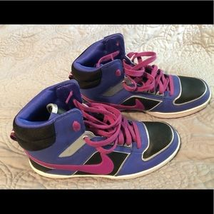 Nike high top sneakers women's size 8